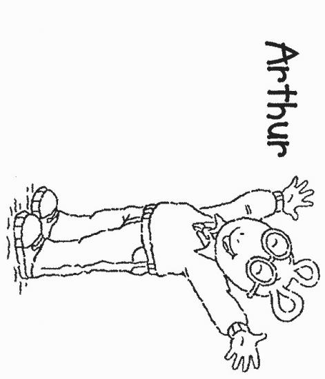 דפי צביעה ארתור 4