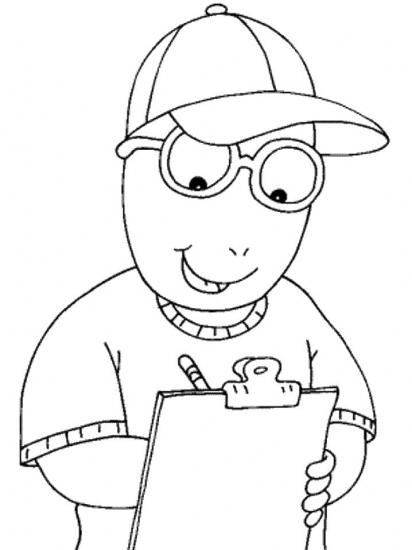 דפי צביעה של ארתור