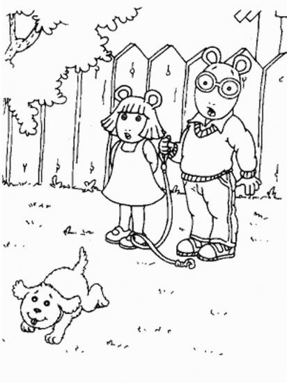 דף צביעה ארתור גילי וחבר