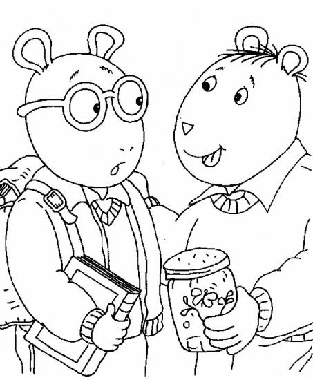דפי צביעה של ארתור ובינקי