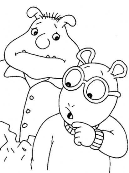 דפי צביעה של ארתור ובנקי