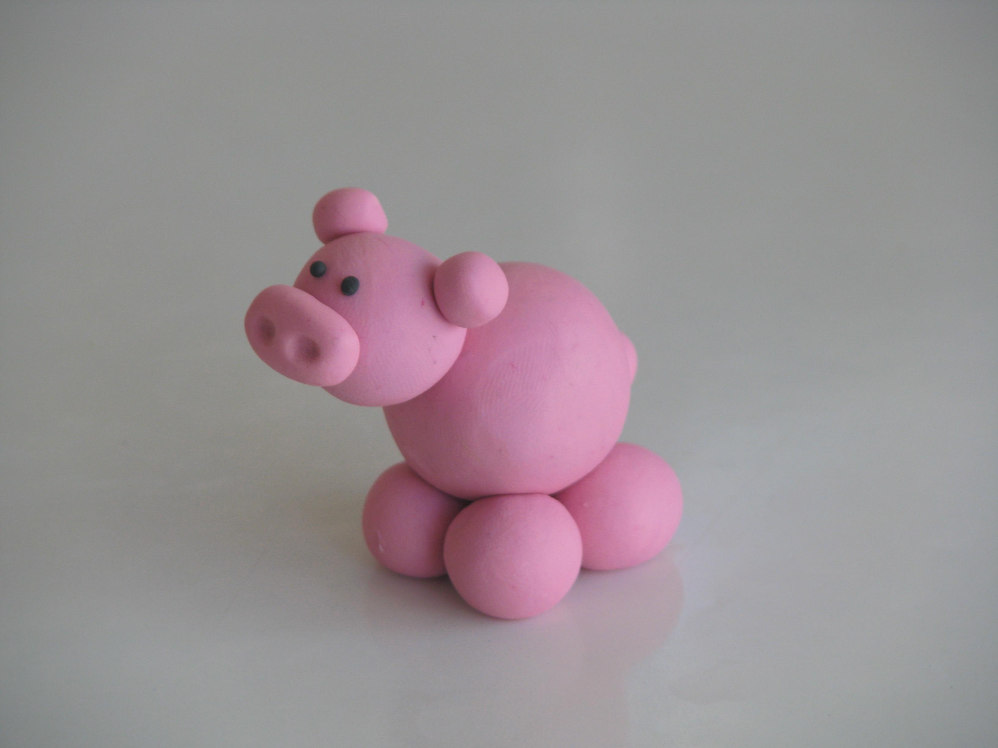 חזיר מפלסטלינה