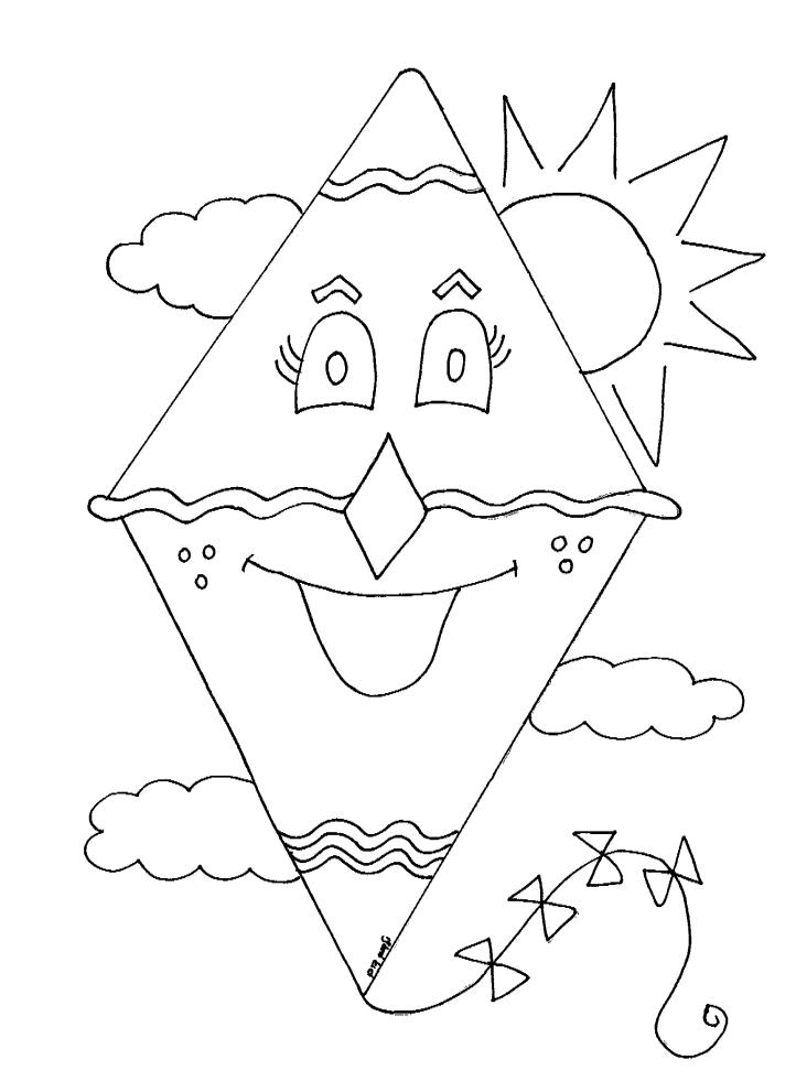 צביעת עפיפון לאביב