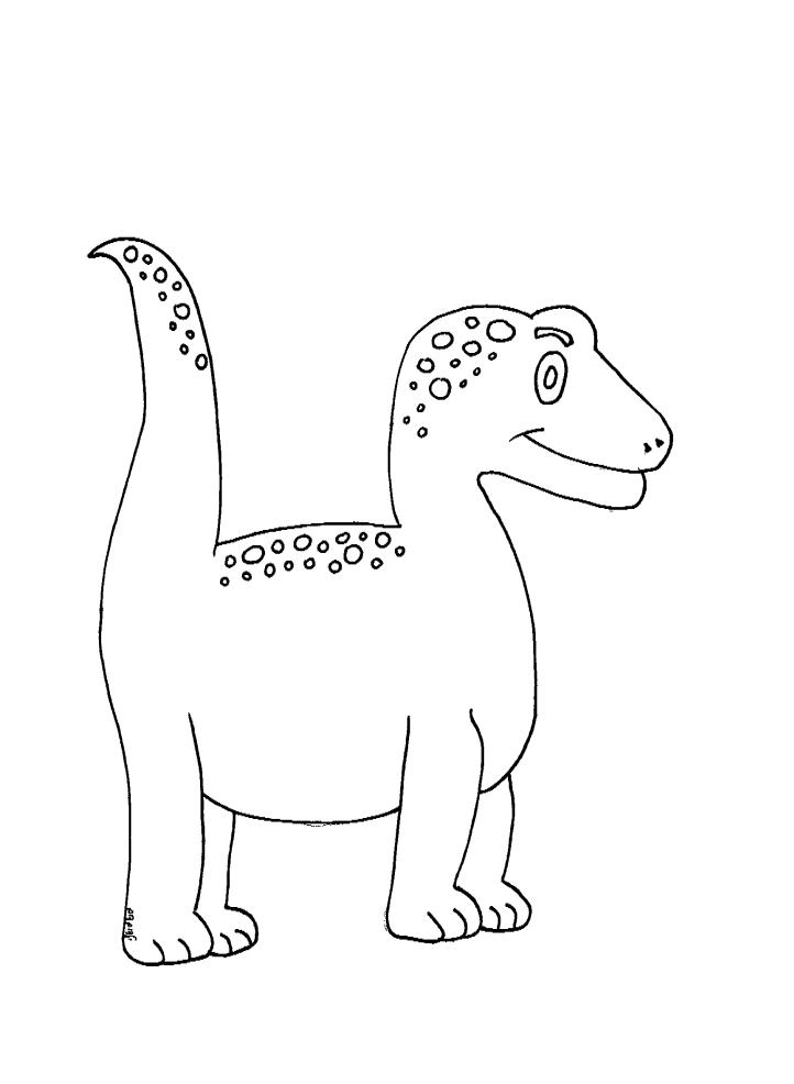 צביעה דינוזאור