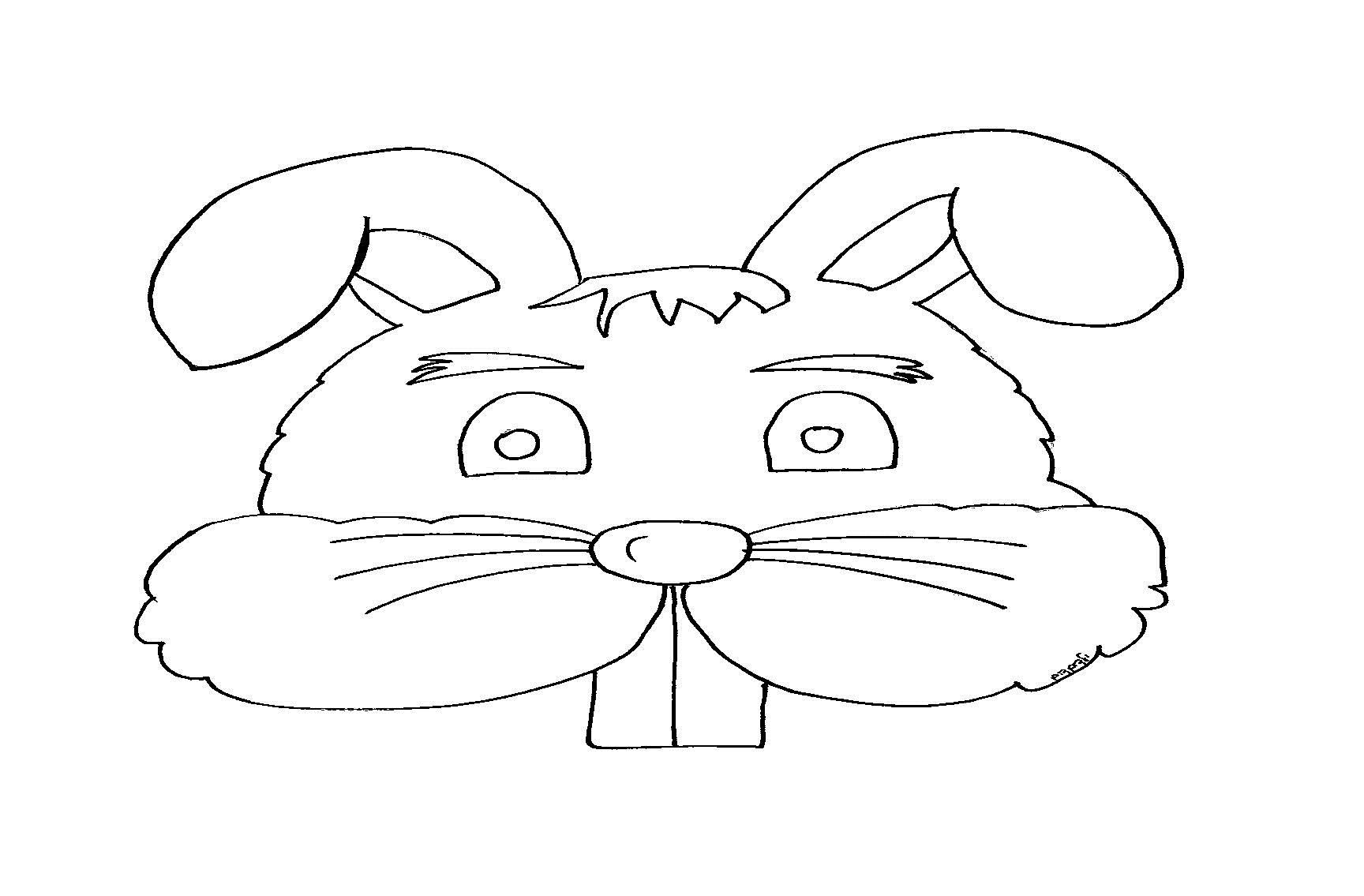 דף צביעה ארנבים