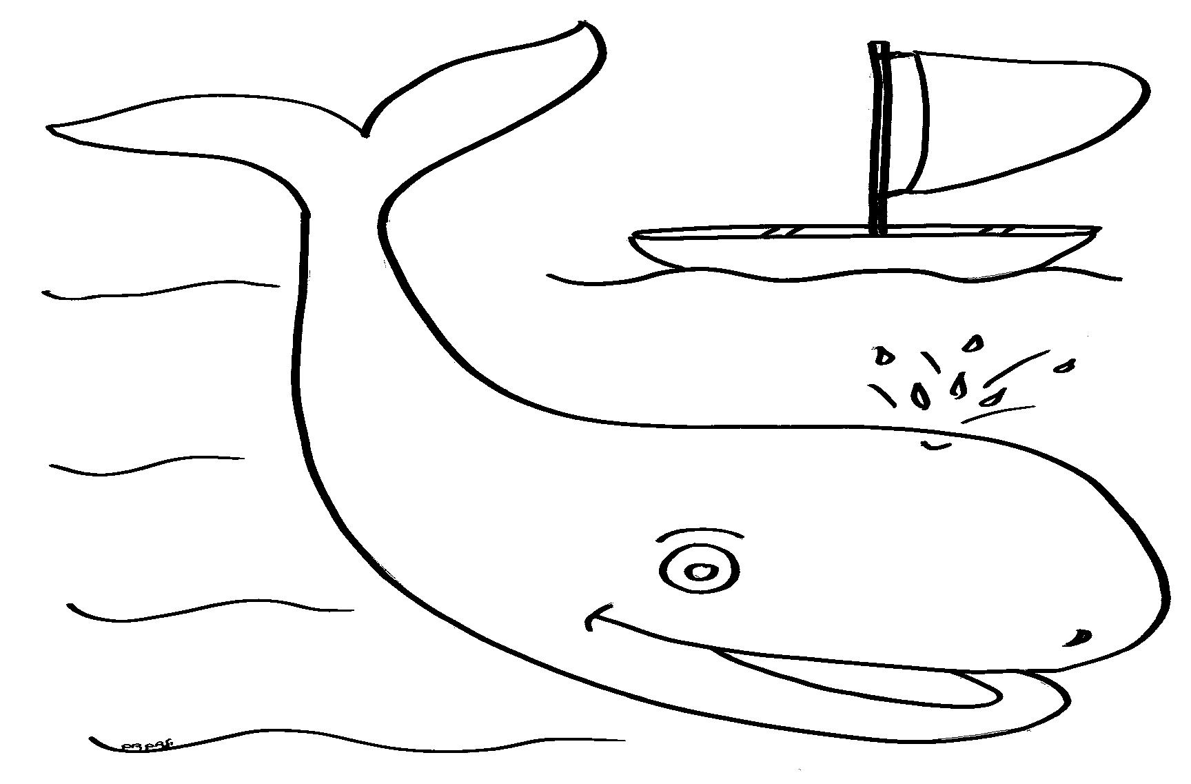 דף צביעה לויתן