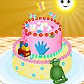 משחק עוגת תינוק