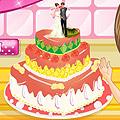 עוגת חתונה מקסימה