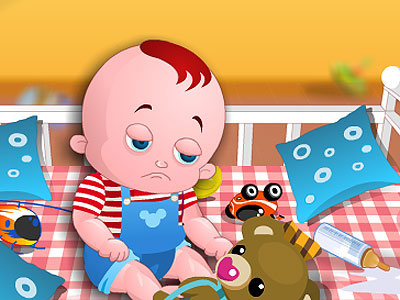 משחק תינוק שובב
