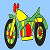 משחק צביעה צביעת אופנוע