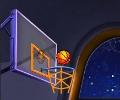 משחק כדורסל בחלל