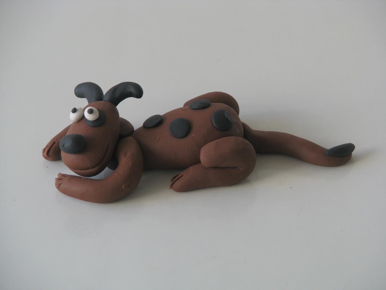 כלב מפלסטלינה