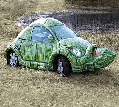 תמונה מכונית צב