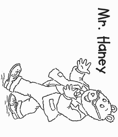 דפי צביעה של מר הני