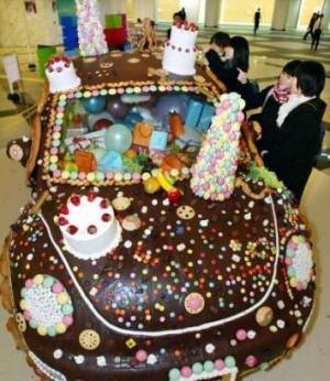 תמונה עוגת שוקולד מגניבה