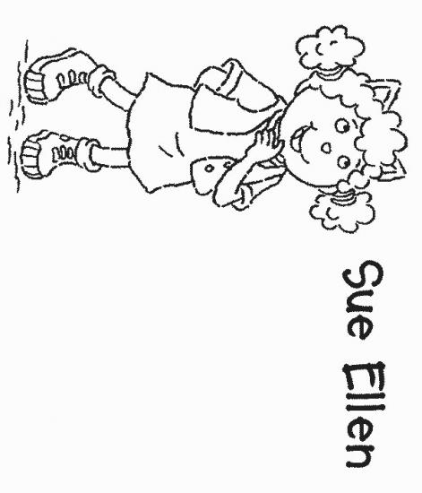 דף צביעה סו אלן