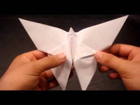 קיפול נייר פרפר