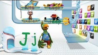 לימוד אותיות אנגלית  I-J-K-L
