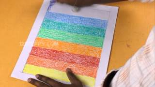 דפי קסם-צבעי הקשת