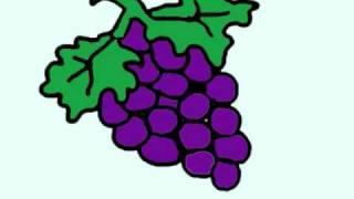 איך לצייר ענבים?