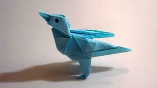 יצירת אפרוח מאוריגמי