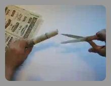 יצירה של עץ מעיתון
