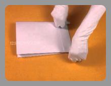 יצירה של שקית מנייר
