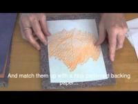 יצירת הדפסי עלים