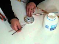 יצירת מיחזור מחזיק עפרונות