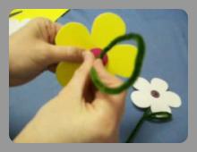 יצירה של פרח מסול