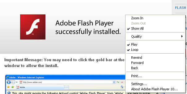 Adobe Flash Player להורדה