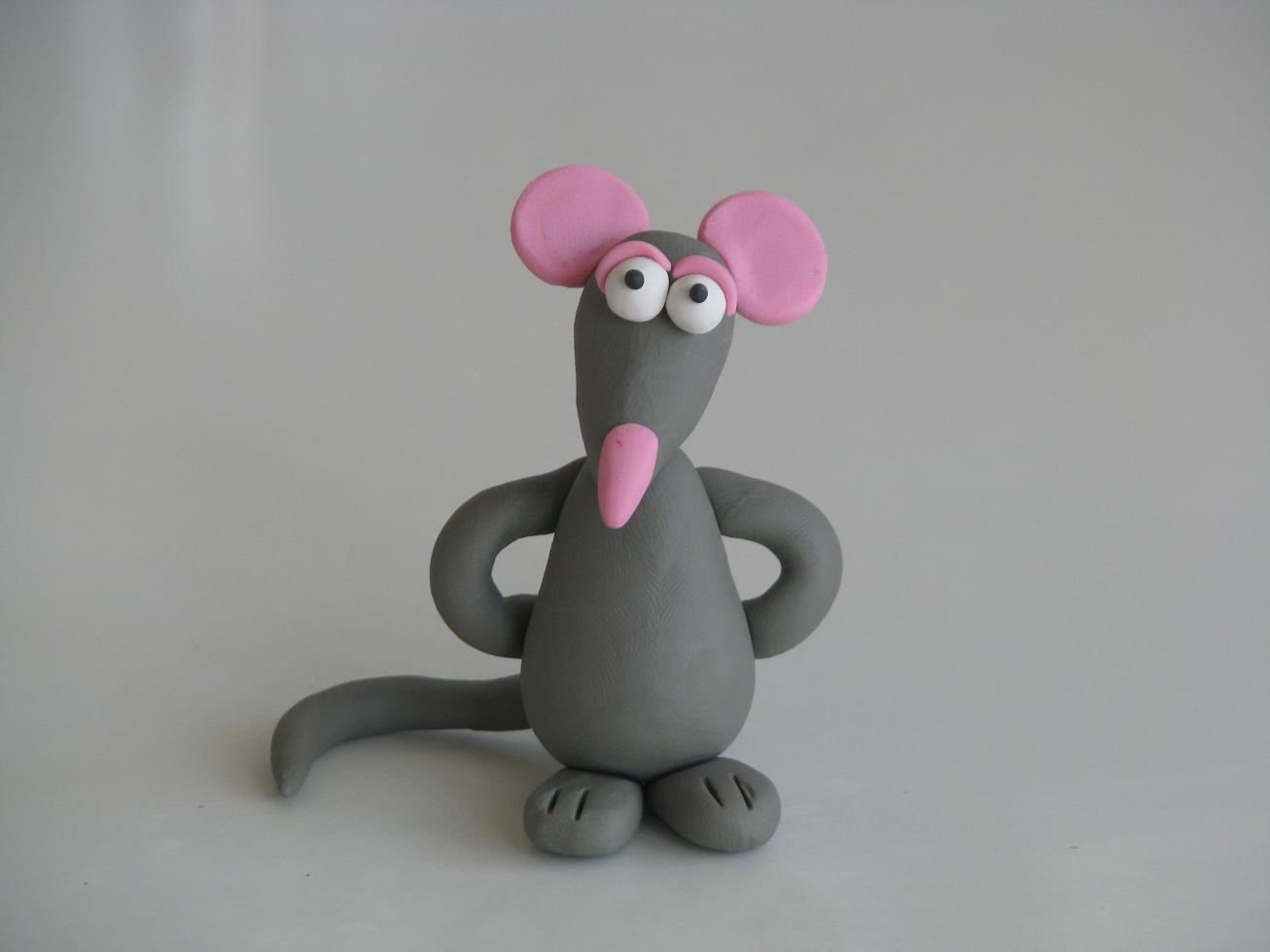 עכבר מפלסטלינה