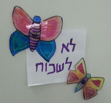 יצירת פרפרים מגנט