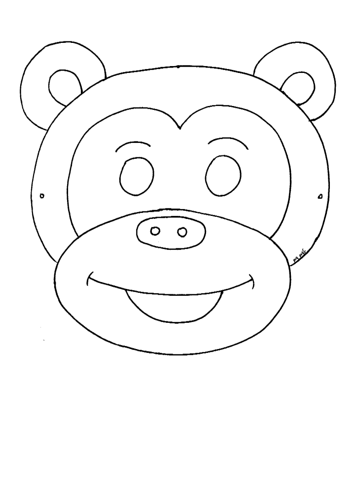 מסכת קוף לצביעה